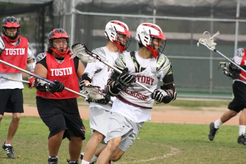 Victory Lacrosse Playing Tustin