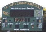 Foothill JV Lacrosse La Costa Canyon 1st quarter score