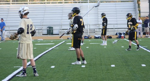 The JV Knights great conditioning clearly showed as the team closed the gap with La Costa in the 3rd quarter.