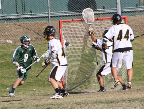 "...Opposing teams are forced to defend #9 Bobby Braun any time he is near the crease or at ""X"" which leads to many easy goals for Coronado..."