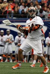 Sophomore attack Jack McBride of the men's lacrosse team helped the Tigers to a 10-9 win over Penn on Tuesday evening by finding the back of the net twice. Princeton is now 2-0 in Ivy League play.