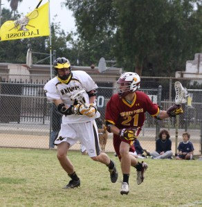 Torrey Pines Boys Lacrosse Played 2009 CIF-Southern Section Champion Foothill Knights in March. Photo by LaxBuzz