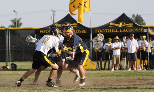 El Toro JV Lacrosse scored the first goal against Foothill in what would be a low scoring game where defense and groundballs would decide the game....