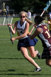 Menlo School senior Madi Shove, who scored 101 goals and added 25 assists while helping the Knights to a 17-5 record and the West Bay Athletic League regular-season and playoff titles, is the Most Valuable Player on the 2009 All-WBAL Foothill Division girls' lacrosse team. Menlo went 14-0 in league play and topped Menlo-Atherton, 16-6, in the playoff finale as Shove scored five goals.