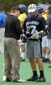 """We're excited about the growth of the sport, both locally and nationally,"" said Providence College men's lacrosse coach Chris Burdick. ""The game is growing tremendously. I just finished recruiting in Texas, Florida, Philadelphia and Baltimore. My assistant told me that more kids are playing lacrosse in San Diego County than baseball right now."""