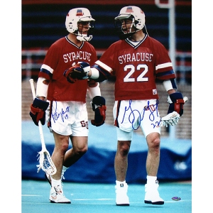 Gary Gait and all three Powell brothers made No. 22 a jersey synonymous with lacrosse success at Syracuse. Dan Hardy wore it the previous four years. Jamieson wore 22 when he played for OCC.