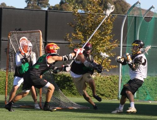 Orange Crush Foothill Lacrosse vs 4 Leaf Lacrosse