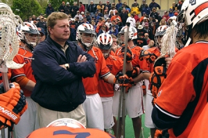 Syracuse Men's Lacrosse Head Coach John Desko