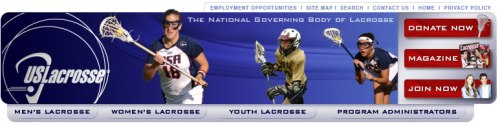 US Lacrosse Banner
