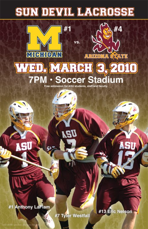 Western College Men's Lacrosse: Arizona State Men's ...