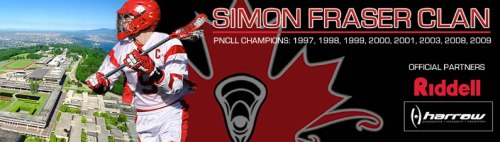 simon fraser men's lacrosse