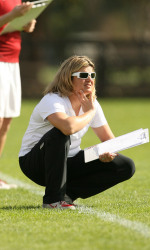Stanford Women's Lacrosse Head Coach Amy Bokker
