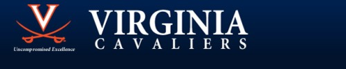 Virginia men's lacrosse banner