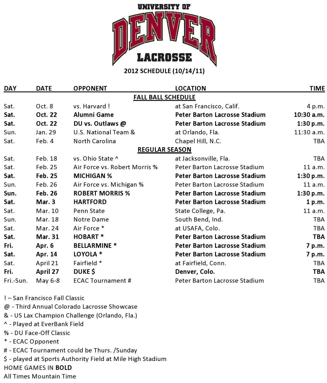 Denver TV Schedule NGlzhiMd