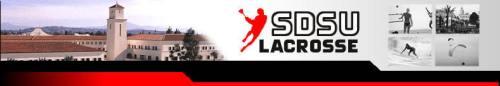 San Diego State Lacrosse Header