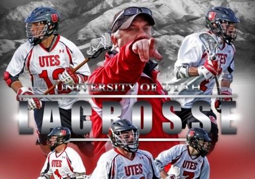 Utah Men's Lacrosse 2012 Schedule Poster
