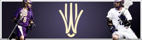 Washington Husky Lacrosse Banner