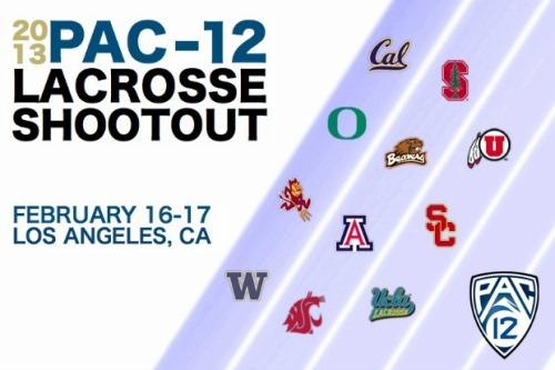 2013 Pac 12 Lacrosse Shootout