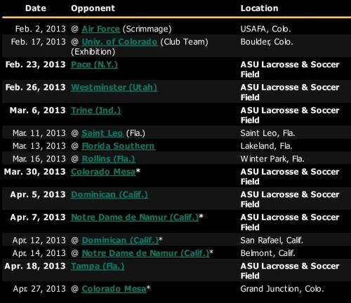 adams state schedule