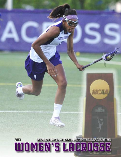 Northwestern Womens Lacrosse 2013 Guide-page-001