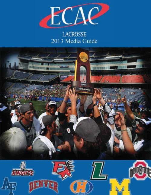 2013 ECAC Lacrosse Media_Guide