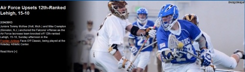 Air Force Men's Lacrosse vs Lehigh