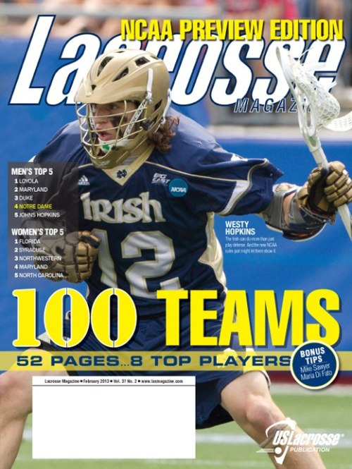Lacrosse Magazine feb 2013 large