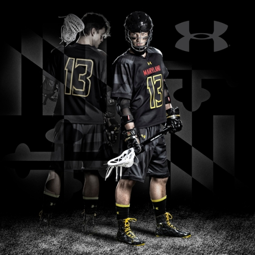Maryland Mens lacrosse black ops uniforms