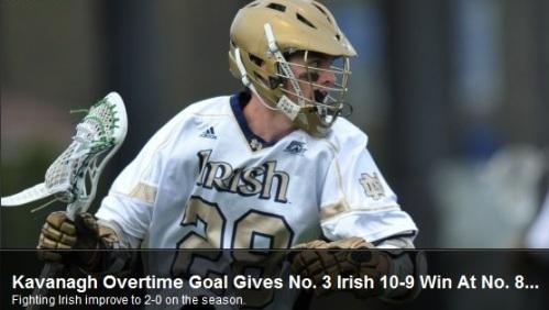 Notre Dame Men's Lacrosse vs Penn State