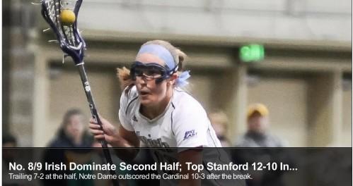 Notre Dame Women's lacrosse vs Stanford