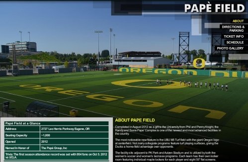 Pape Lacrosse Field Oregon