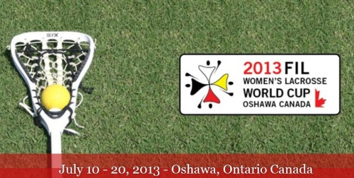 2013 FIL Women's Lacrosse World Championship Schedule