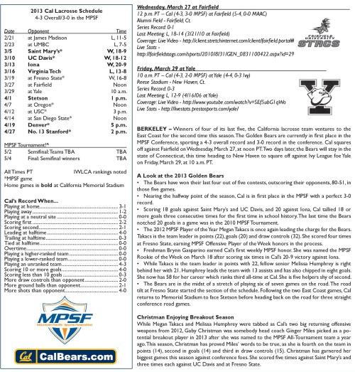 Cal Berkeley Women's Lacrosse game notes-page-001