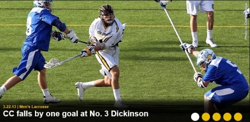 Colorado College Men's Lacrosse vs Dickinson