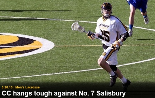 Colorado College Men's Lacrosse vs. Salisbury