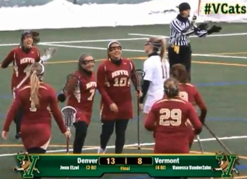 Denver Women's Lacrosse vs Vermont