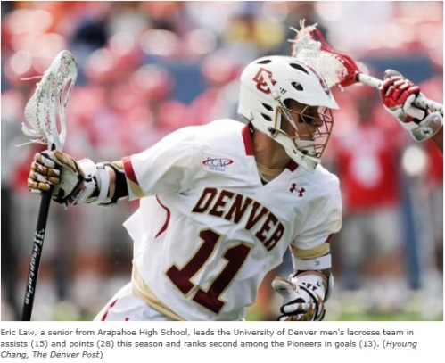 Eric Law Denver Men's Lacrosse