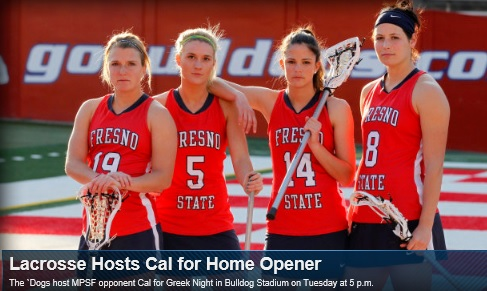 Fresno State Women's Lacrosse hosts Cal Berkeley