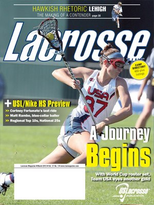 Lacrosse Magazine March 2013 Issue