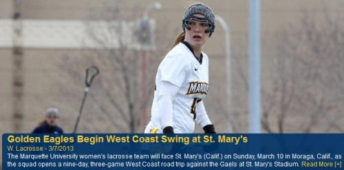 Marquette Women's Lacrosse West Coast Road Trip