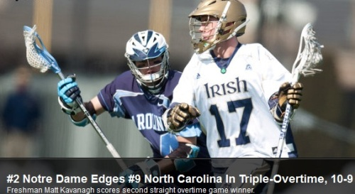 Notre Dame vs North Carolina