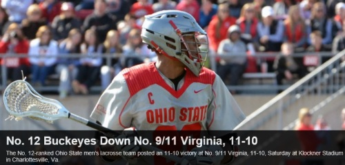Ohio State Men's Lacrosse defeats Virginia