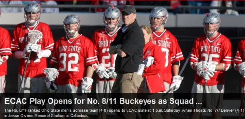 Ohio State Men's Lacrosse vs Denver