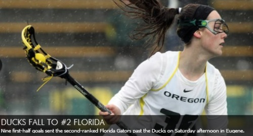 Oregon Women's Lacrosse vs Florida