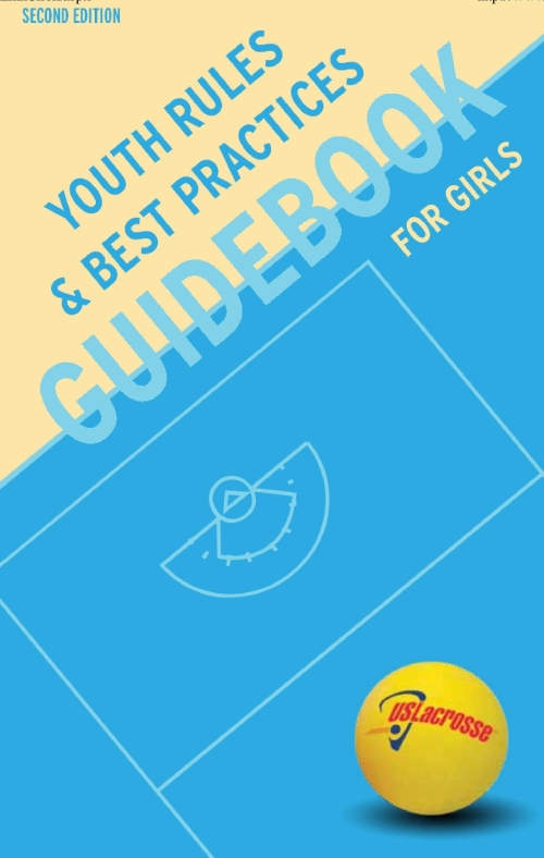 Youth Girls Lacrosse Rules guidebook 2nd edition