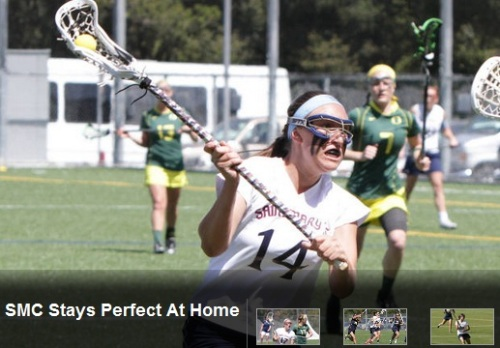 Saint Mary's Women's Lacrosse vs Marquette