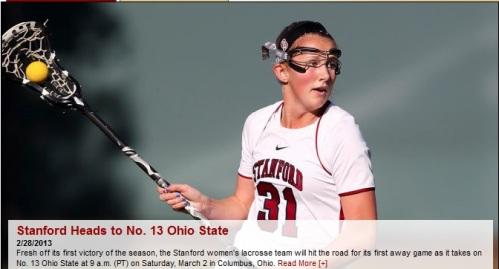 Stanford Women's Lacrosse vs Ohio State