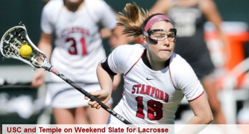 Stanford Women's Lacrosse vs Temple and USC