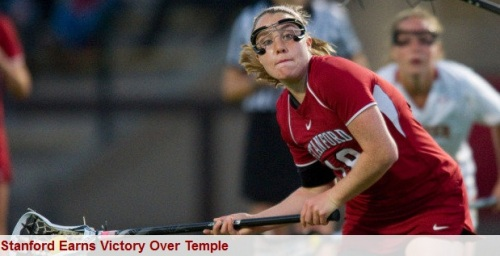 Stanford Women's Lacrosse vs Temple