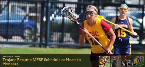 USC Women's Lacrosse vs Denver